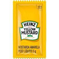 Mostarda Heinz Sachê 5g | Com 192 Unidades - Cod. 7896102517025
