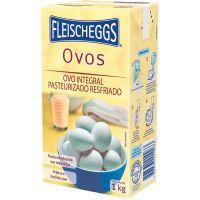 Ovo Integral Pasteurizado Fleischeggs 1kg | Caixa com 12 Unidades - Cod. 7898331010033C12