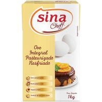 Ovo Integral Pasteurizado Resfriado Cheff Sina 1kg - Cod. 7898922869118C12