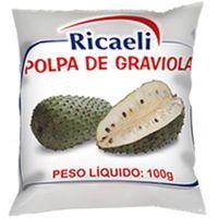 Polpa de Graviola Ricaeli 100g - Cod. 7897387101184C10