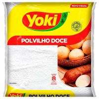 Polvilho Doce Yoki 1kg | Caixa com 12 Unidades - Cod. 7891095378630C12