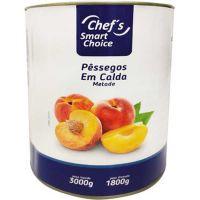 Pêssego em Calda Chef's Smart Choice Lata 1,8kg - Cod. 6943750901286C6