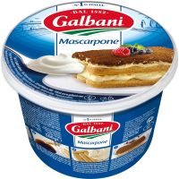 Queijo Tipo Mascarpone Galbani 360g | Caixa com 6 Unidades - Cod. 7891097001543C6