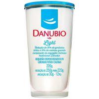 Requeijão light Danubio Copo 220g | Caixa com 24 Unidades - Cod. 7891999014443C24