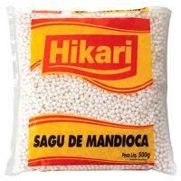 Sagu Hikari Pacote 500g   Caixa com 12 Unidades - Cod. 7891965220595C12