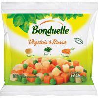 Vegetais à Russa Congelado Bonduelle 1,02kg | Caixa com 12 Unidades - Cod. 3083681045093C12