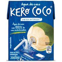 Água Coco Kero Coco 200ml - Cod. 7896828000017