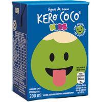 Água Coco Kero Coco Kids 200ml |Com 27 unidades - Cod. 7894321235226