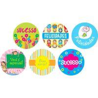 Disco Decorativo Bons Momentos Rich's 12 Unidades - Cod. 7898904718748