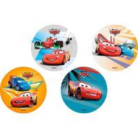 Disco Decorativo Carros 2 Rich's 12 Unidades - Cod. 7898904718861
