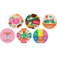 Disco Decorativo Dia das Crianças Rich's 12 Unidades - Cod. 7898610600474