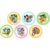 Disco Decorativo Mickey Esporte Rich's 12 Unidades - Cod. 7898950235329