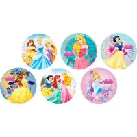Disco Decorativo Princesas Rich's 12 Unidades - Cod. 7898610600719