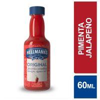 Molho de Pimenta Hellmann'sJalapeño Original 60ml - Cod. 7891150062627
