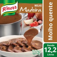 Molho Madeira Knorr 1,1kg - Cod. 7891150025431