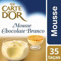 Mousse de Chocolate Branco Carte D'Or 400g - Cod. 7891150054981