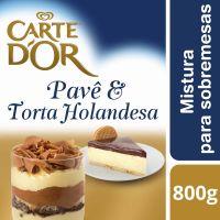 Pavê e Torta Holandesa Carte D'Or 800g - Cod. 7891150054998
