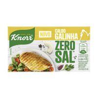 Caldo Knorr Galinha Zero Sal 48g - Cod. 7891150072824C10