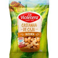 Castanha de Caju La Violetera Inteira sem Casca 100g - Cod. 7891089060770
