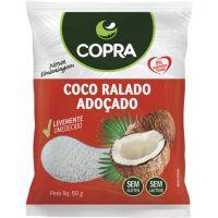 Coco Ralado Copra Fino, Úmido e Adoçado 100g - Cod. 7898905356291