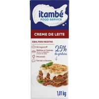 Creme de Leite Itambé 25% de Gordura 1,01Kg - Cod. 7896051128137