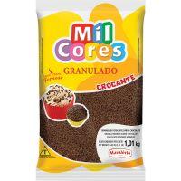 Granulado Crocante Mil Cores Forneável Chocolate Preto 1,01Kg - Cod. 7896072646726
