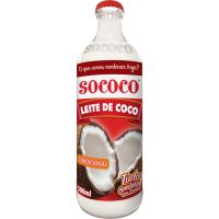 Leite de Coco Sococo Garrafa 500ml - Cod. 7896004400082