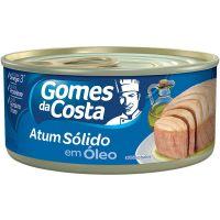 Atum Gomes da Costa Sólido em Óleo 120g - Cod. 7891167011731