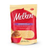 Confeito de Chocolate Harald Melken Vermicelli Branco 400g - Cod. 7897077835429