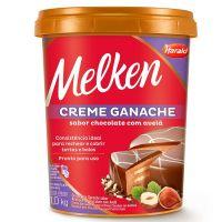 Ganache Harald Melken com Avelã 1kg - Cod. 7897077834866