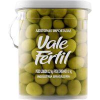 Azeitona Verde Vale Fértil com Caroço Média 2kg - Cod. 7896272003015