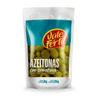 Azeitona Verde Vale Fértil sem Caroço 1,01kg - Cod. 7896272004692