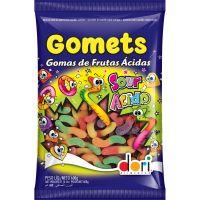 Bala de Goma Dori Gomets Minhocas Ácidas 600g - Cod. 7896058592900