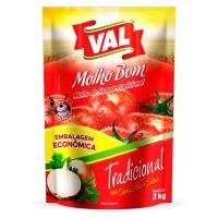 Molho de Tomate Val Tradicional 2kg - Cod. 7898045701418