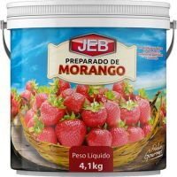Preparado de Frutas Jeb Morango 4,1Kg - Cod. 7898627840306