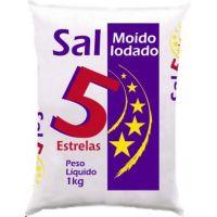 Sal Refinado Cinco Estrelas 1Kg - Cod. 7896244138899