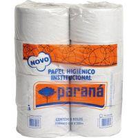Papel Higiênico Paraná Folha Simples Rolão 300mtX10cm | Com 8 Unidades - Cod. 7898925740353