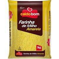 Farinha de Milho Caldo Bom Amarela 1Kg - Cod. 7896273900047