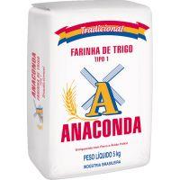 Farinha de Trigo Anaconda Tipo 1 5Kg - Cod. 7896419431053