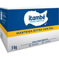 Manteiga Extra Itambé com Sal Caixa 5kg - Cod. 7896051164807