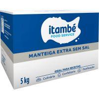 Manteiga Extra Itambé sem Sal Caixa 5kg - Cod. 7896051164814