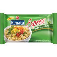 Macarrão Instantâneo Renata Express Legumes 85g - Cod. 7896022201937