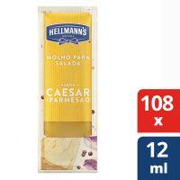 Molho Para Salada Hellmann's Caesar e Parmesão 12ml | Com 108 sachês - Cod. 7891150077195