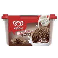 Sorvete Kibon Cremosíssimo Chocolate 1,5L | Caixa com 4 - Cod. 7891150077263C4
