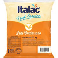 Leite Condensado Italac Semidesnatado Bag 2,5kg - Cod. 7898080640857