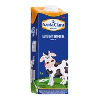 Leite Integral Santa Clara 1L (com tampa) - Cod. 7896504305078
