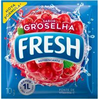 Refresco em Pó Fresh Groselha 10g - Cod. 7622210990754