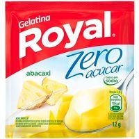 Gelatina Royal Zero Açúcar Abacaxi 12g - Cod. 7622300172817