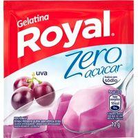Gelatina Royal Zero Açúcar Uva 12g - Cod. 7622300172930