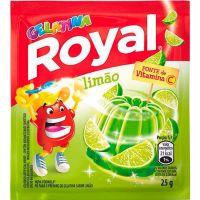 Gelatina Royal Limão 25g - Cod. 7622300859909